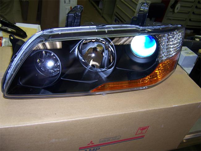 Mitsubishi Oem Jdm Evo Mr Headlight Set Evo 8 9 Evo 8