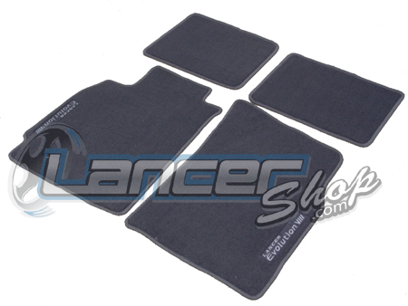 Mitsubishi OEM Evolution VIII Floormats set of (4) - EVO 8