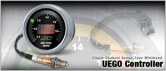 AEM UEGO Wide Band O2 Gauge 52mm - 30-4100