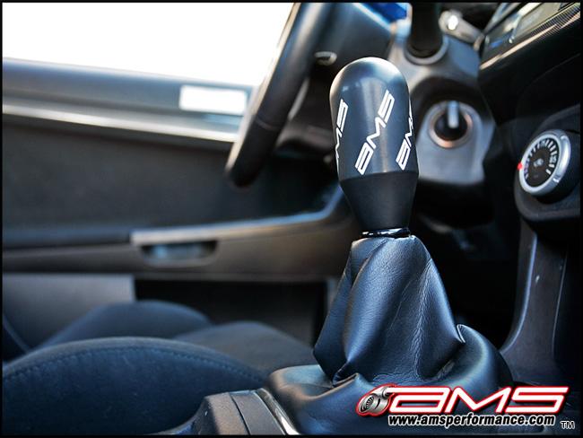 AMS Performance Delrin Shift Knob - EVO 8/9/X :: EVO X
