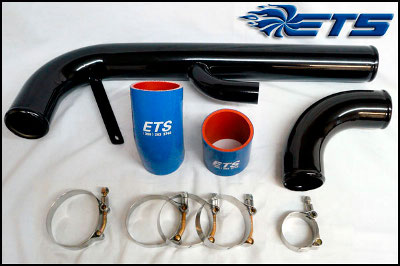 ETS Mitsubishi Evo X and Evolution X Lower Intercooler Pipe Kit 2008-2015
