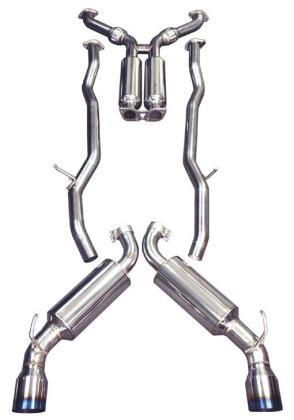 Injen Stainless Steel Axle-Back Exhaust w/ Titanium Tips