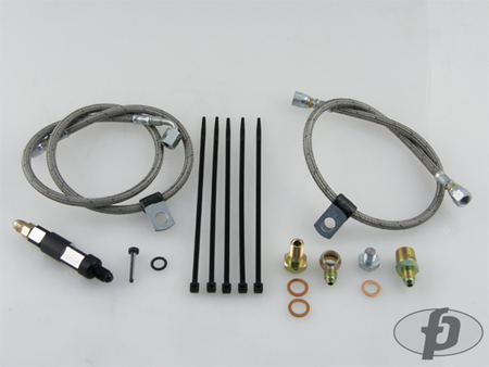 Forced Performance Oil Filter Housing Line Kit - EVO 9