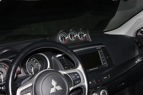 ATi Triple Center Dash Gauge Pod 60mm - EVO X