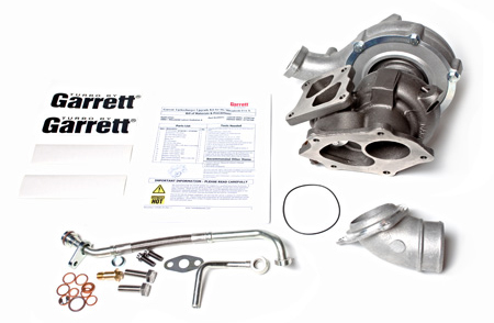 ATP Garrett Dual Ball Bearing Twin-scroll GT3076R Bolt-on Turbo Kit - EVO X
