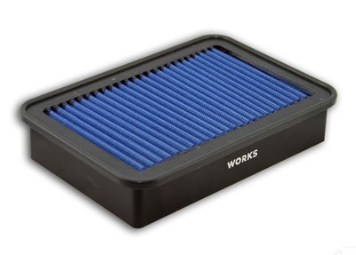 WORKS High-Flow Drop-In Air Filter - EVO X / Ralliart / Lancer