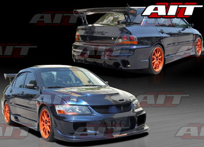 AIT Racing I-spec Style Complete Body Kit - EVO 8/9