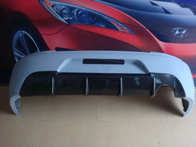 Bay Speed Aero Jdm Oem Portion Carbon Rear Bumper Evo 8