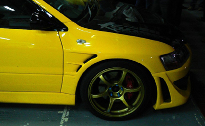 Bay Speed Aero D1 Style Fender - EVO 8/9