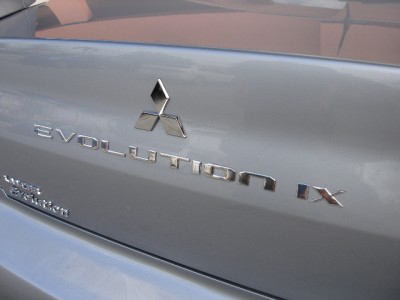 Rear Chrome Trunk Badge - EVO 8/9/X