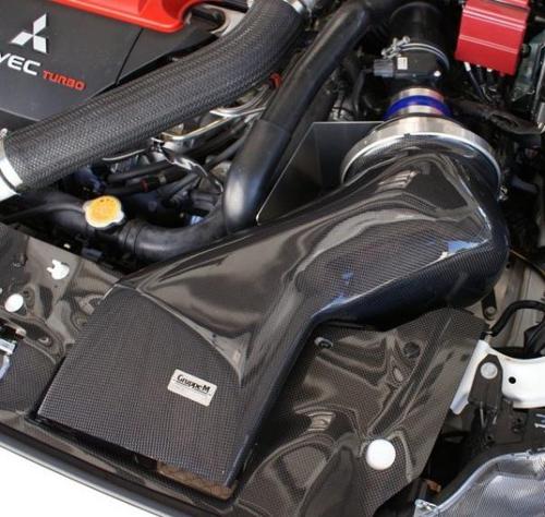 For Mitsubishi Lancer 09 12 Intermotor Manifold Absolute: BaySpeed GM Carbon Fiber Intake Snorkel