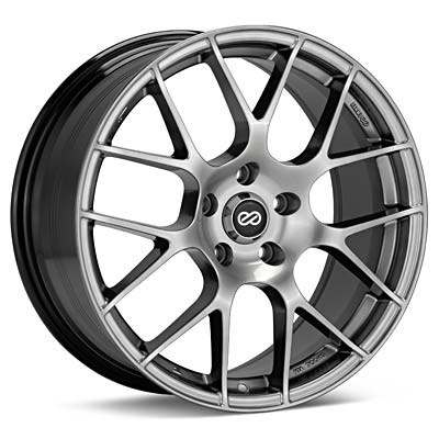 enkei raijin hyper silver rims set of 4 evo x rims. Black Bedroom Furniture Sets. Home Design Ideas