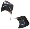 Tyrant Carbon Fiber Exhaust Shield Set (2) EVO X