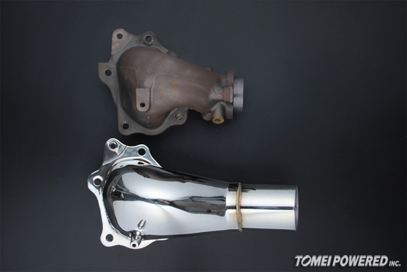 Tomei Expreme Outlet Component Evo X Evo X Turbo Outlet Pipe Test Pipe Evo X Exhaust
