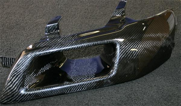 Seibon Carbon Fiber Headlight Duct Evo 8 9 Air Intake