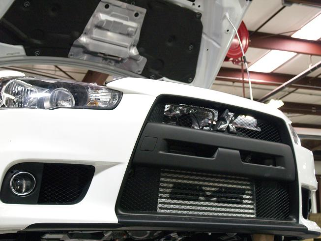 Ams Front Mount Intercooler Evo X Evo X Intercooler