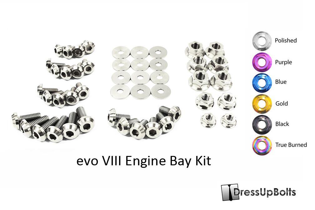 dress up bolts titanium engine bay kit  9