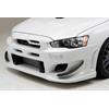 Ings+1 N-Spec HYBRID Front Bumper - EVO X