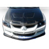 Extreme Dimensions Carbon Creations Demon Front Lip - EVO 8