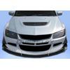 Extreme Dimensions Duraflex GT500 Widebody Front Bumper - EVO 8/9