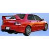 Extreme Dimensions Duraflex GT500 Widebody Rear Bumper - EVO 8/9