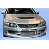 Extreme Dimensions Duraflex MR Edition Front Bumper - EVO 8/9