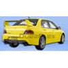 Extreme Dimensions Duraflex JDM MR Style Rear Bumper - EVO 8/9