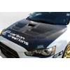 Extreme Dimensions Carbon Creations GT Concept Hood - EVO X