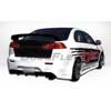 Extreme Dimensions Duraflex GT Concept Rear Bumper - 08+ Lancer ES, SE, GT, Ralliart