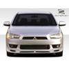Extreme Dimensions Duraflex RX-S Front Lip Spoiler - 1 Piece - Mitsubishi Lancer 2008-2012