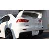 JP Rear License Plate Garnish - EVO X