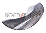 CarbonTrix Carbon Fiber Exhaust Shield - Lancer DE/ES/GTS
