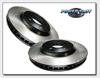 StopTech Slotted Rear Brake Rotors Set - EVO 8/9