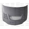 Seibon CW Style Dry Carbon Fiber Hood - EVO 8/9