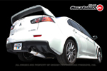 Greddy Revolution RS Exhaust - Evo X
