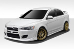Extreme Dimensions 2008-2015 Mitsubishi Lancer 4DR Duraflex I-Spec Body Kit - 4 Piece