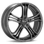 Avarus AV14 Titanium Gunmetal Rims (set of 4 ) - Evo X
