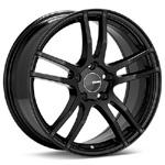 Enkei TX5 Black Painted Rims (Set of 4) - Evo 8