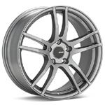 Enkei TX5 Platinum Grey Rims (Set of 4) - Evo 8