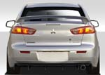 Extreme Dimensions 4 DR Duraflex M Power Rear Diffuser - 2008 + EVOX/Ralliart