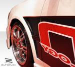 Extreme Dimensions 2PC Duraflex GT Concept Fenders - 08-15 Lancer