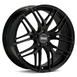 Advanti BO Bello Black Painted set of 4 Wheels - Evo X/Ralliart