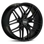 Advanti BO Bello Black Painted set of 4 Wheels - Evo X/Ralliart