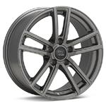 Monte MT3 Sopra Matte Titanium set of 4 Wheels - Evo X/Ralliart
