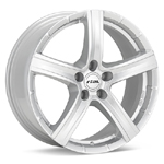 Rial Quinto Bright Silver Set of 4 Wheels - Evo X