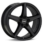 Rial R10 Black Painted Set of 4 Wheels - Lancer Ralliart