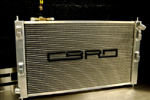 CBRD Aluminum Racing Radiator - Evo X/Ralliart