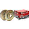 Brembo Rear Slotted Rotors - Evo 8/9