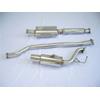 Tsudo PZEV Catback Exhaust System - Lancer GTS, ES, DE 2008-2011