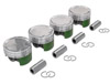 Cosworth 4B11 Forged Stroker Piston Set - 87mm 10.0:1CR with 94mm crank - EVO X